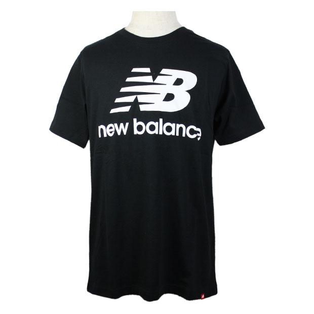 エッセンシャルズスタックドロゴ半袖Tシャツ  mt01575-bk ブラック