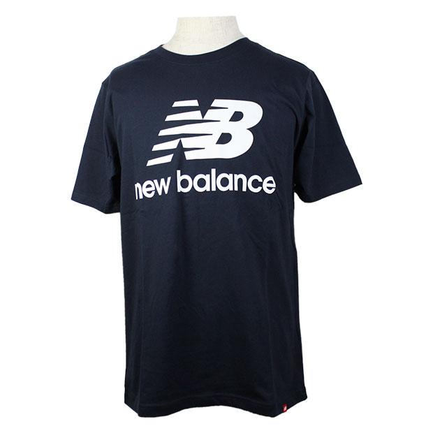 エッセンシャルズスタックドロゴ半袖Tシャツ  mt01575-ecl エクリプス