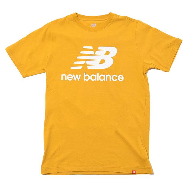 エッセンシャルズスタックドロゴ半袖Tシャツ  mt01575-vgl バーシティゴールド