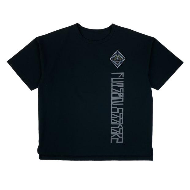 Futebol Seekerz プライムフレックス ビッグ半袖シャツ  o1211001-blk ブラック