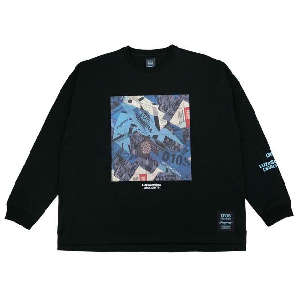 DR76 Dios ビッグシルエット長袖Tシャツ  o1212200-blk ブラック
