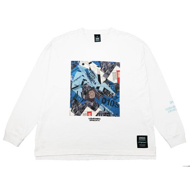 DR76 Dios ビッグシルエット長袖Tシャツ  o1212200-wht ホワイト