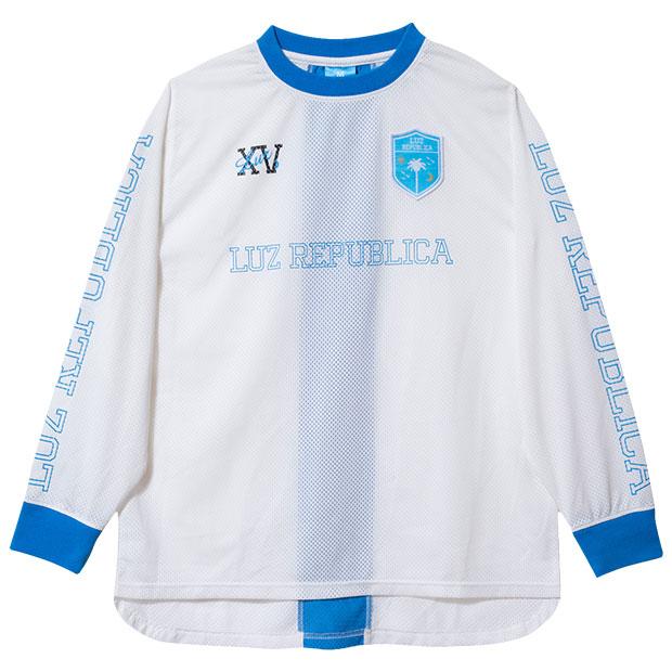 リパブリカメッシュ長袖シャツ  o2011002-wht ホワイト
