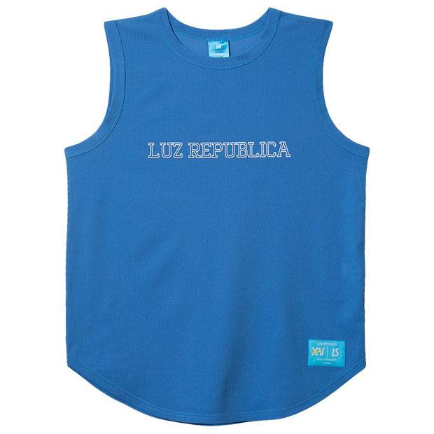 リパブリカメッシュノースリーブシャツ  o2011004-atmblu ATMブルー