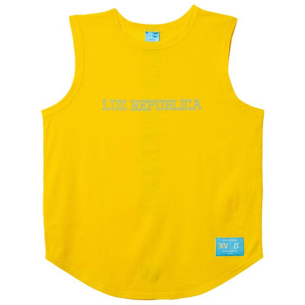 リパブリカメッシュノースリーブシャツ  o2011004-yel イエロー