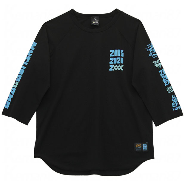 15th Street TT 七分袖プラTシャツ  o2011018-blk ブラック