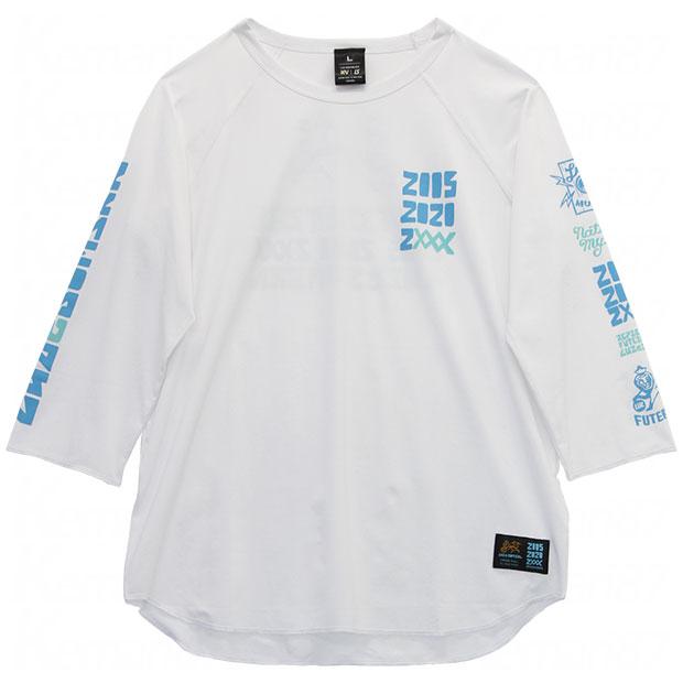 15th Street TT 七分袖プラTシャツ  o2011018-wht ホワイト