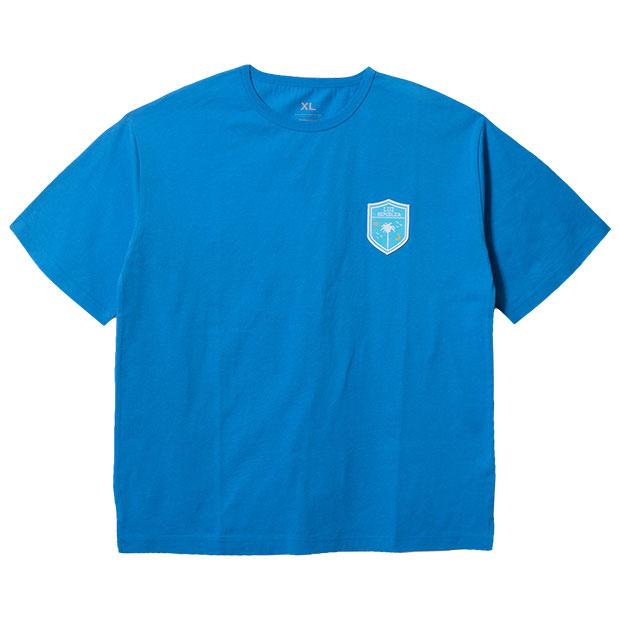 リパブリカワッペン半袖Tシャツ  o2012003-atmblu ATMブルー