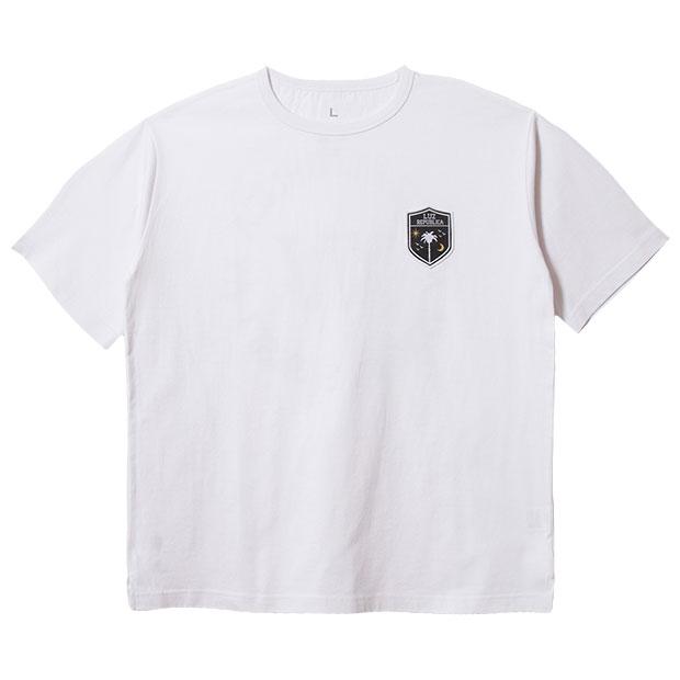 リパブリカワッペン半袖Tシャツ  o2012003-wht ホワイト