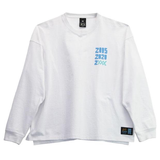 15th pray for 長袖Tシャツ  o2012020-wht ホワイト