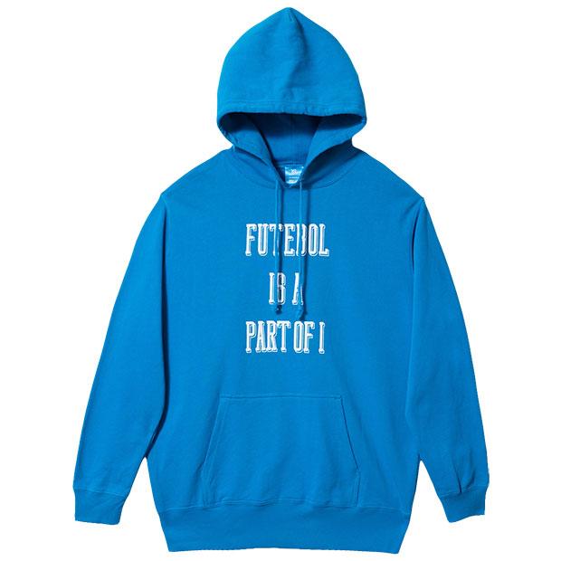 PART OF I パーカー  o2012100-atmblu ATMブルー
