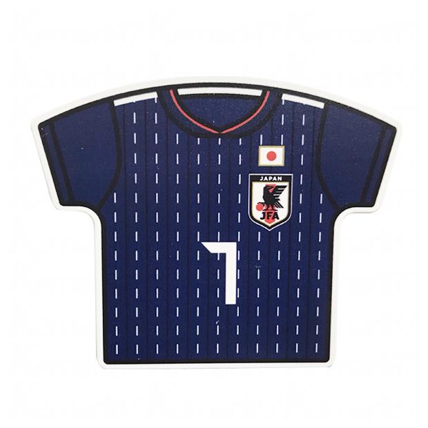 日本代表 ユニフォーム型クリップマグネット No.7  oo-547