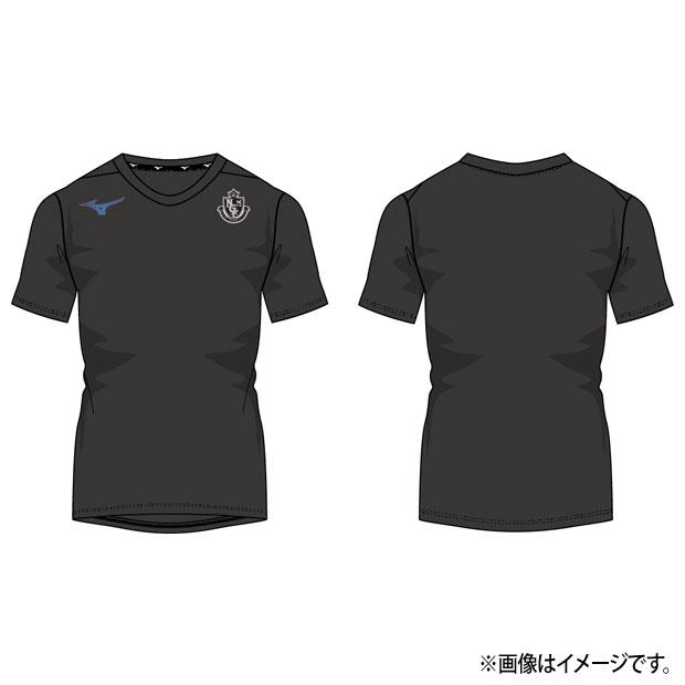 名古屋グランパス 移動用半袖Tシャツ  p2ja0y5209 ブラック