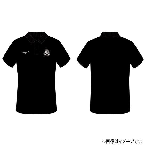 名古屋グランパス 移動用半袖ポロシャツ  p2ja0y5309 ブラック