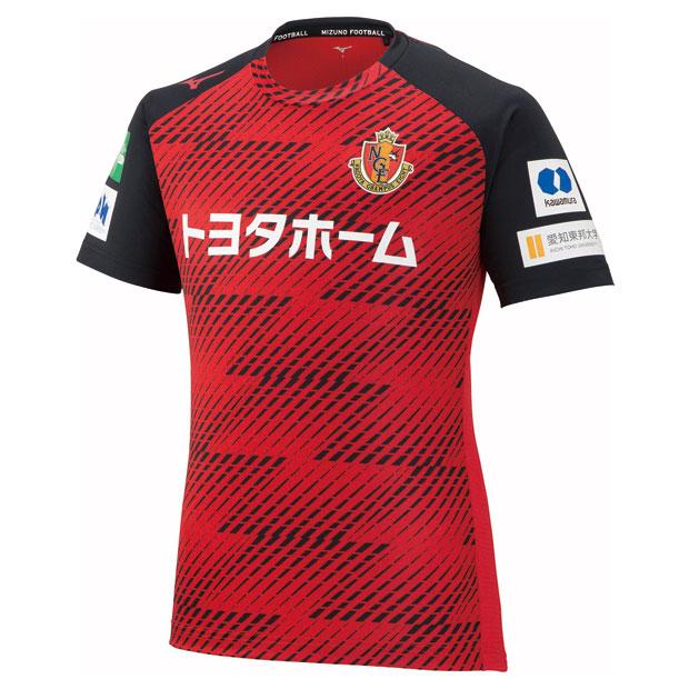 名古屋グランパス 半袖プラクティスシャツ  p2ja1y5062 レッド