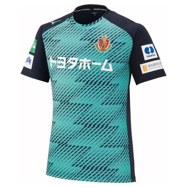 名古屋グランパス GK 半袖プラクティスシャツ  p2ja1y6014 ネイビー