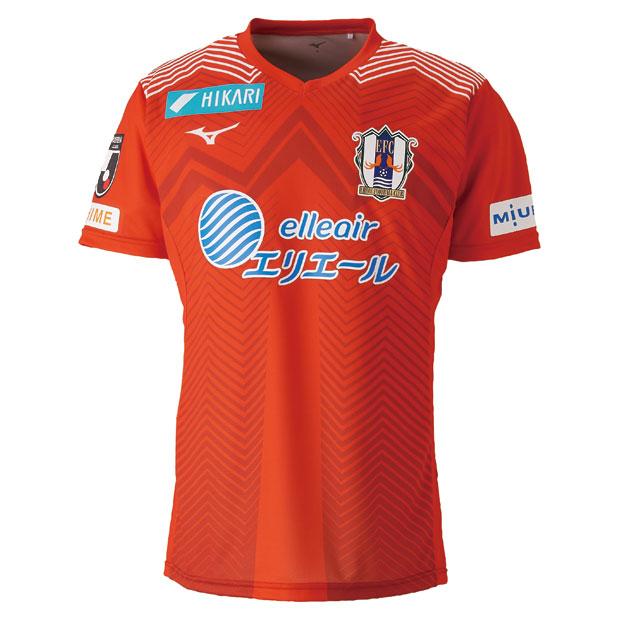 愛媛FC 2019 ホーム 半袖オーセンティックユニフォーム  p2ja9y0101
