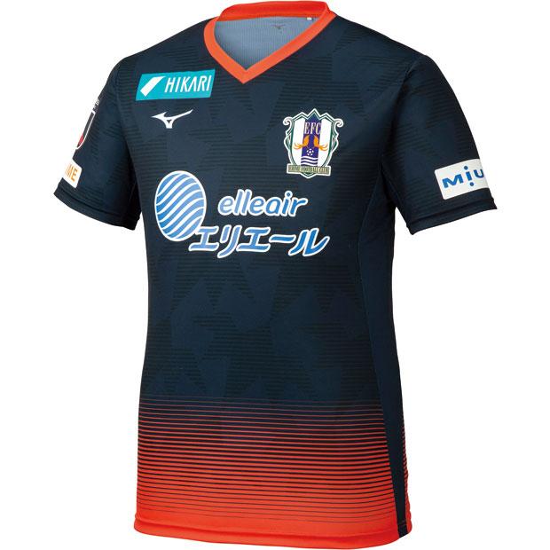 愛媛FC 2019 夏季限定 半袖オーセンティックユニフォーム  p2ja9y0103