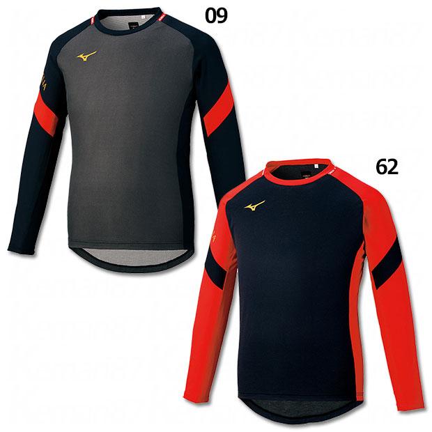 MORELIA ブレスサーモ長袖プラクティスシャツ  p2ma1501