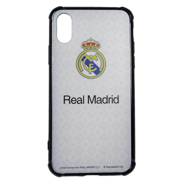 レアルマドリッド スマホハードカバー iPhoneX用  rm32183 ホワイト