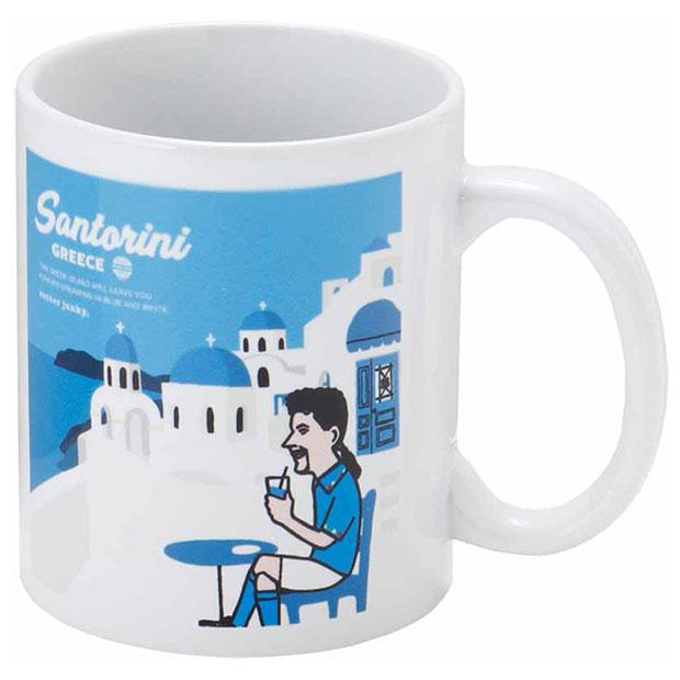 Santorini+10 マグカップ  sj21404