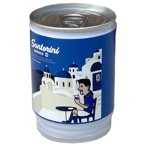 サントリーニのW 芝生缶  sj21477
