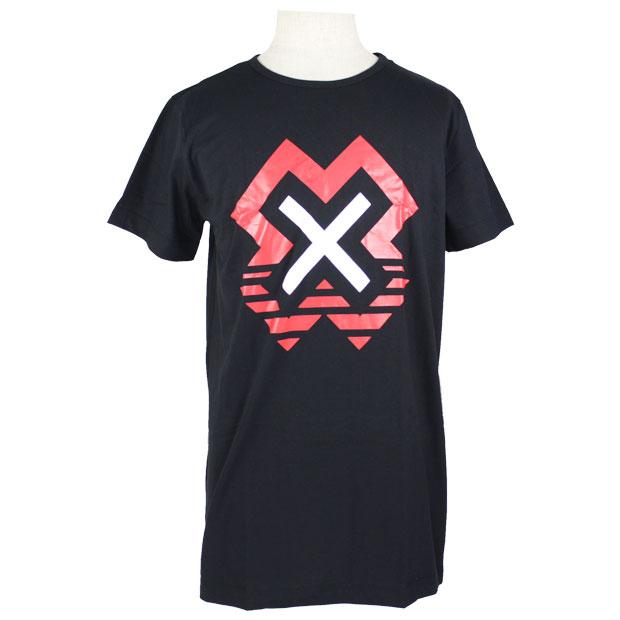 X Tシャツ  ssb08502 ブラック