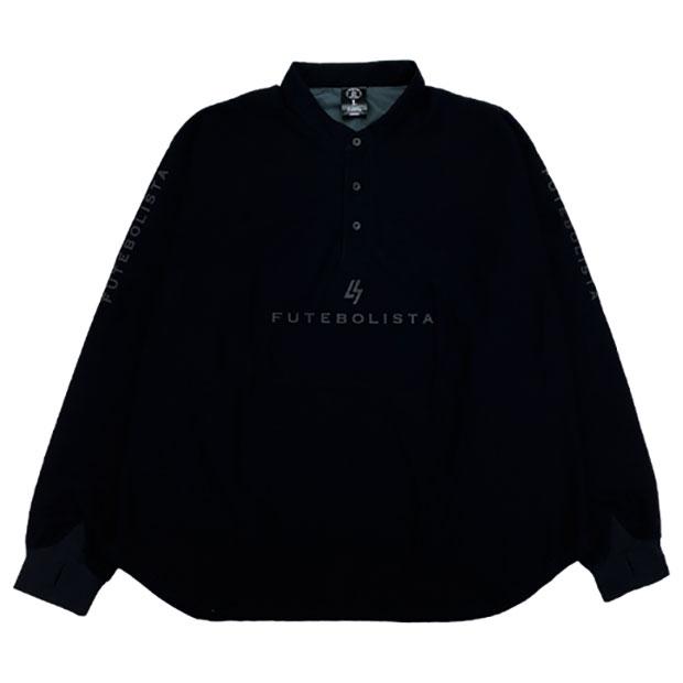 LUZ TOP TEAM GELANOTS バンドカラー ドルマンシャツ  t1211001-blk ブラック