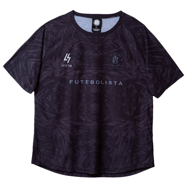 LUZ TOP TEAM FAST DRY 半袖プラクティスシャツ  t2011006-blk ブラック