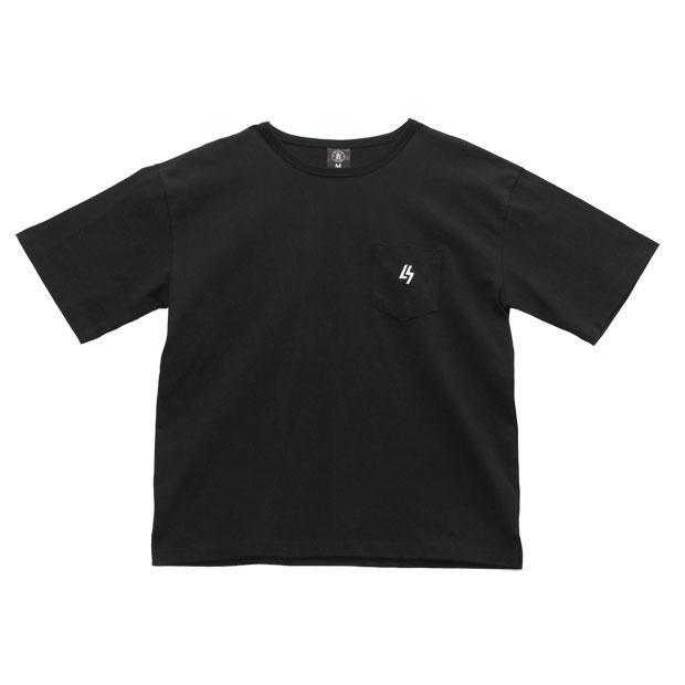 LUZ TOP TEAM ビッグシルエット BOX Tシャツ  t2012023-blk ブラック
