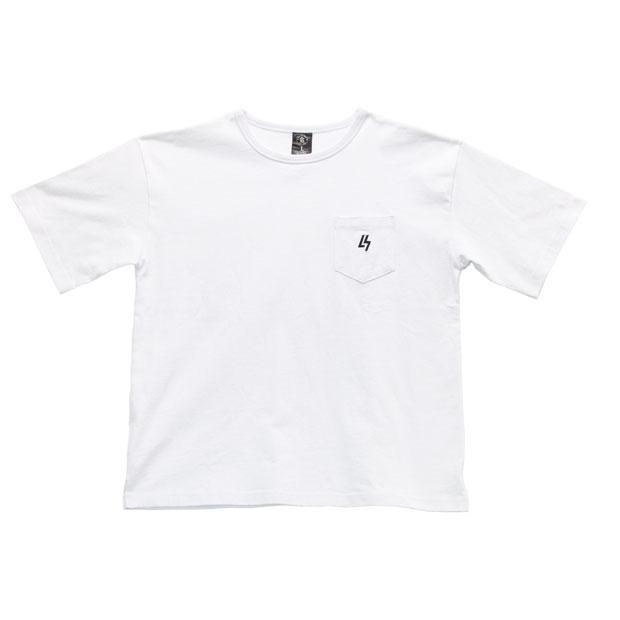 LUZ TOP TEAM ビッグシルエット BOX Tシャツ  t2012023-wht ホワイト