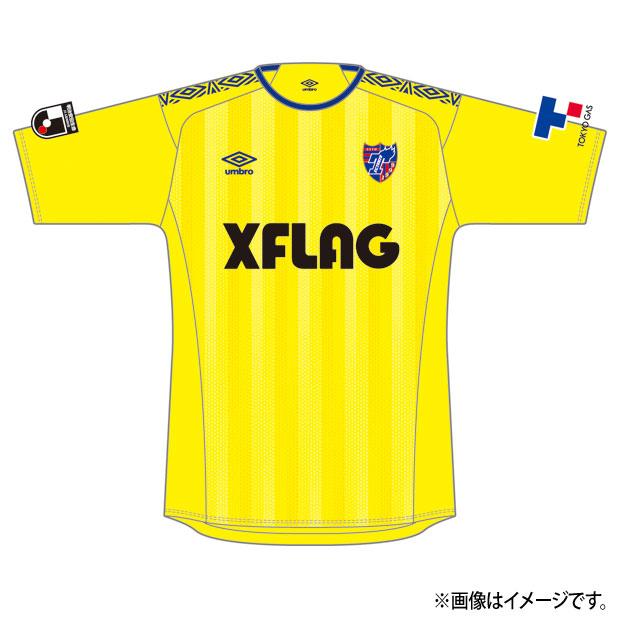 FC東京 2020 GK 半袖レプリカユニフォーム  uds6020tk-yel イエロー
