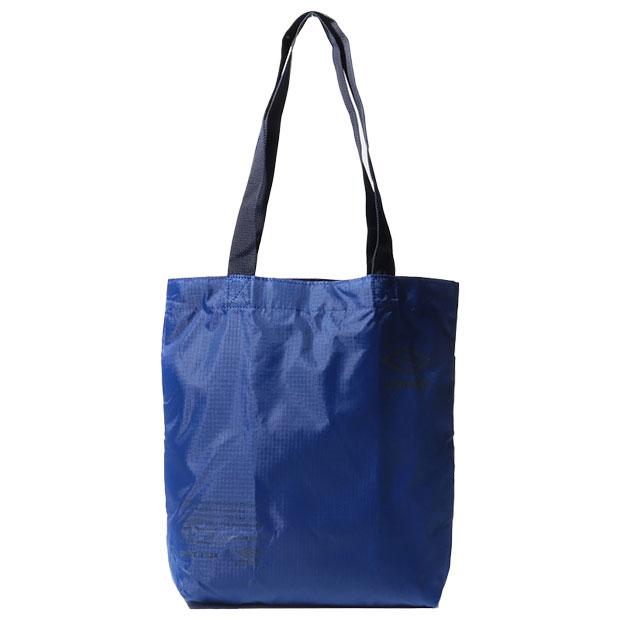 ポケッタブルトートバッグ M  uuasja52-bl ブルー