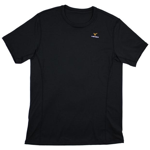 スタンダードドライショートスリーブ  venex-6520-blk ブラック