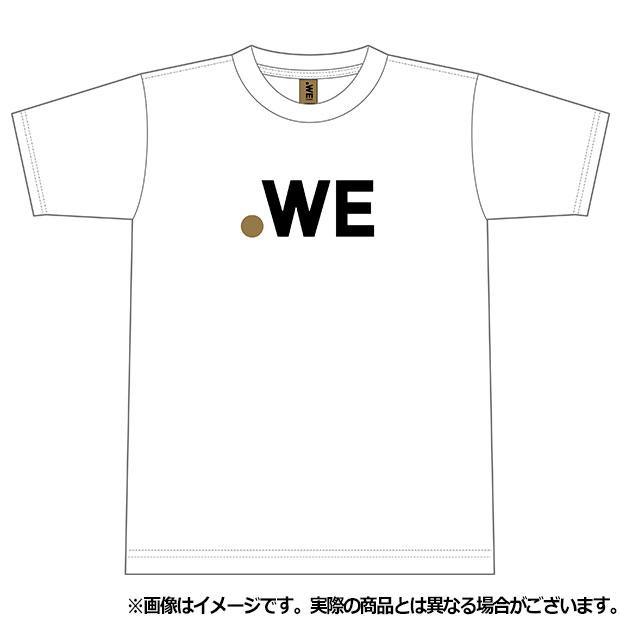 WE LEAGUE ロゴ半袖Tシャツ  wel35004-07 ホワイト