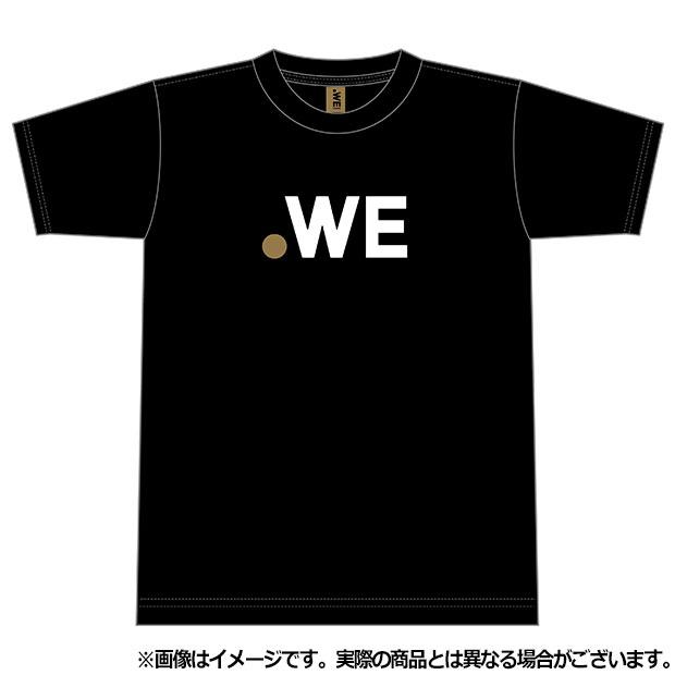 WE LEAGUE ロゴ半袖Tシャツ  wel35008-11 ブラック