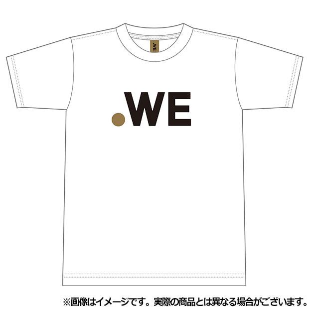 ジュニア WE LEAGUE ロゴ半袖Tシャツ  wel35012-13 ホワイト