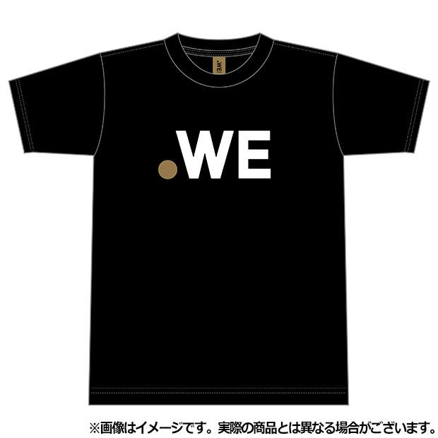 ジュニア WE LEAGUE ロゴ半袖Tシャツ  wel35014-15 ブラック