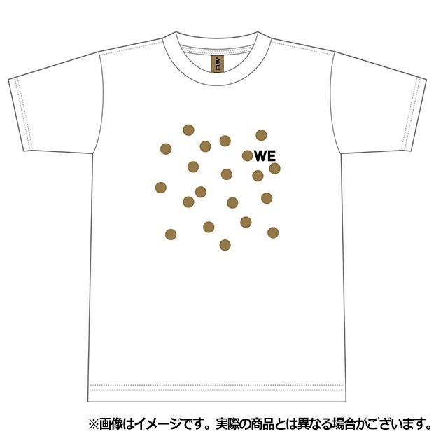 WE LEAGUE ドット半袖Tシャツ  wel35016-19 ホワイト