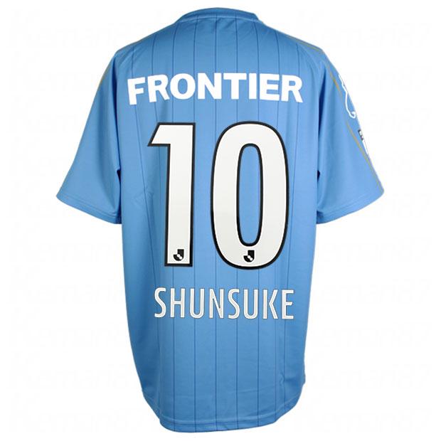 横浜FC 2021 ホーム 半袖レプリカユニフォーム 10.中村俊輔 ysj21101-10-s