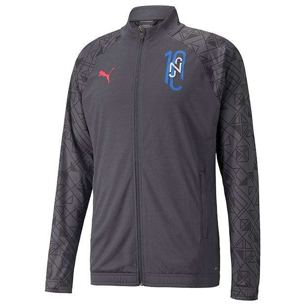 NJR Futebol トレーニングジャケット エボニー