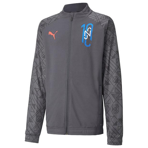 ジュニア NJR Futebol トレーニングジャケット JR エボニー
