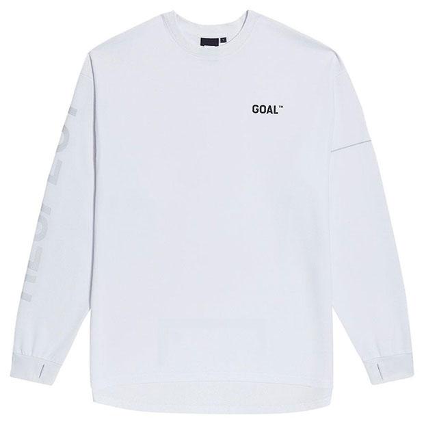 RESPECT 長袖Tシャツ ホワイト