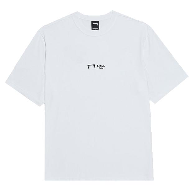 CFC ゴールポストロゴ 半袖Tシャツ ホワイト