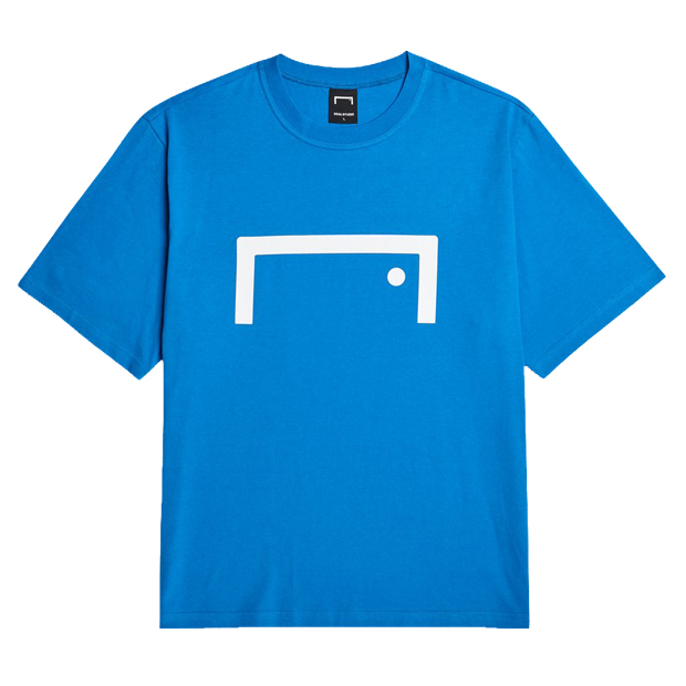 シグネイチャーロゴ 半袖Tシャツ ブルー